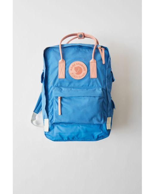 Acne Kånken Tarpaulin A/f Blue Durable Classic Bag