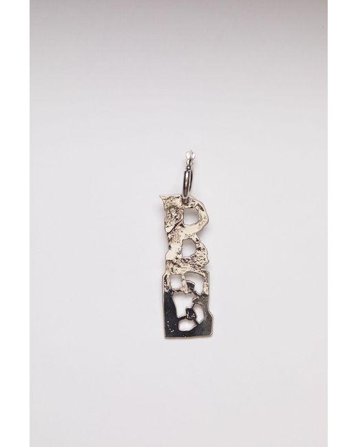 Acne Metallic Fn-ux-jewe000179 Silver B Earring