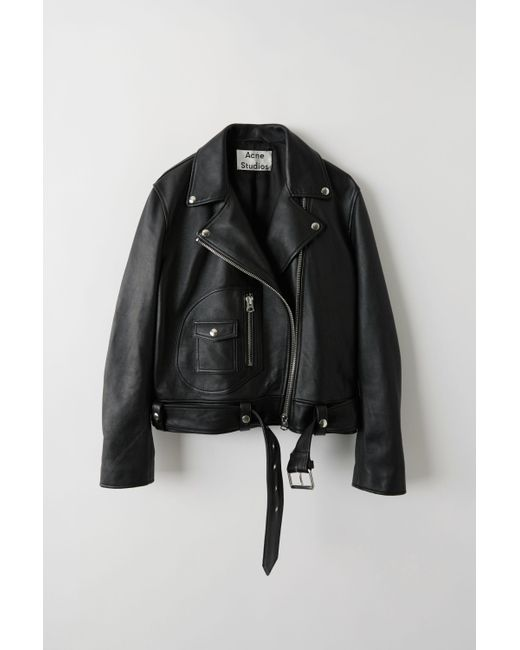 cb7cfdd6b Women's Black Leather Moto Jacket