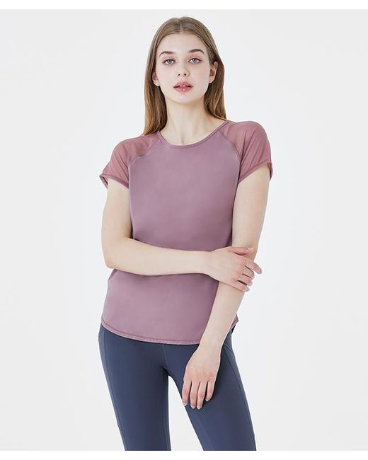 Acqua de Luxe Beachwear Purple Cool Out Short Sleeve