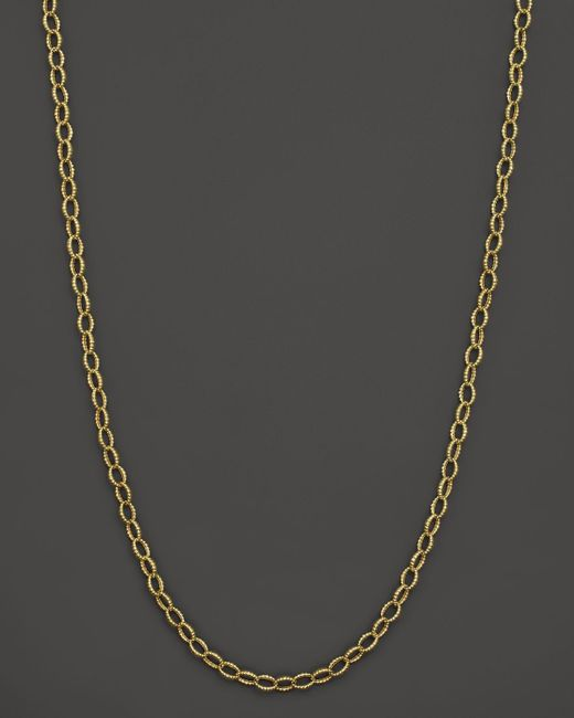 Lagos | Metallic 18k Gold Link Necklace, 18"