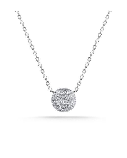 Dana Rebecca | Metallic White Gold Lauren Joy Mini Necklace | Lyst