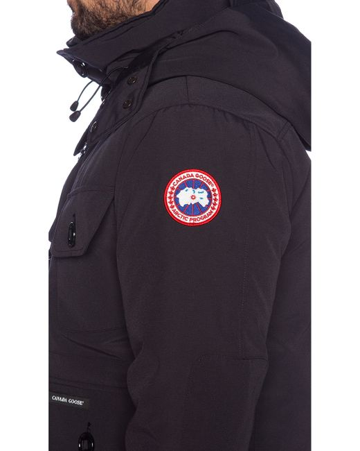 Canada Goose womens replica authentic - Canada goose Selkirk Parka in Blue for Men (Navy) | Lyst