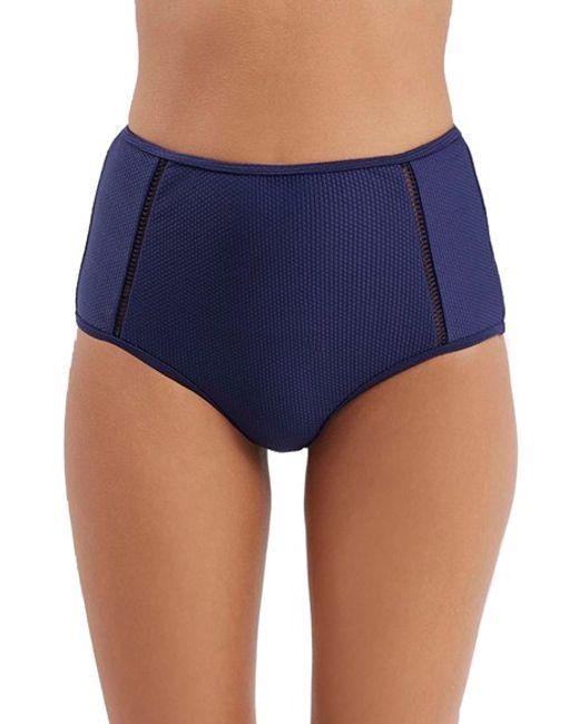 Navy Bikini Bottoms 33