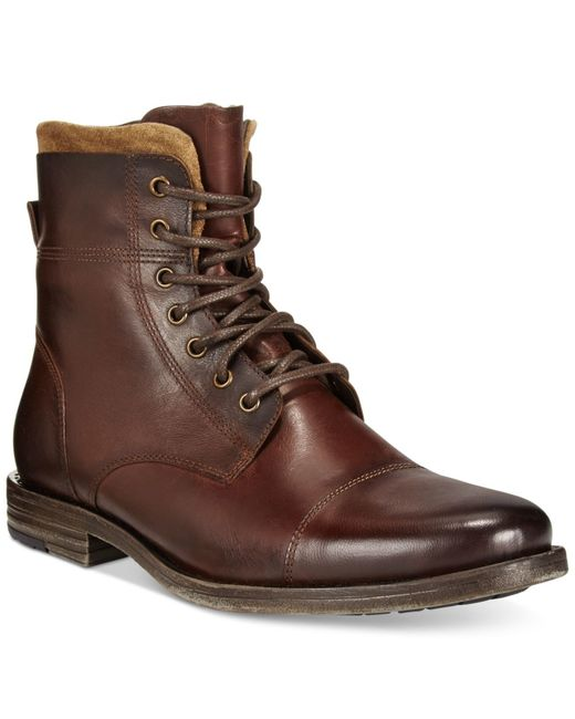 Kenneth Cole Reaction | Brown Steer The Wheel Boots for Men | Lyst