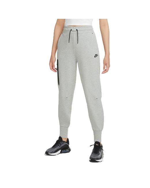 Nike Gray Sportswear Tech Fleece Pant Dark Grey/blackcw4292-063