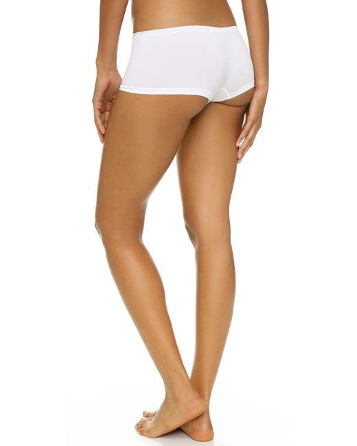 Calvin Klein | White Pure Seamless Boy Shorts | Lyst
