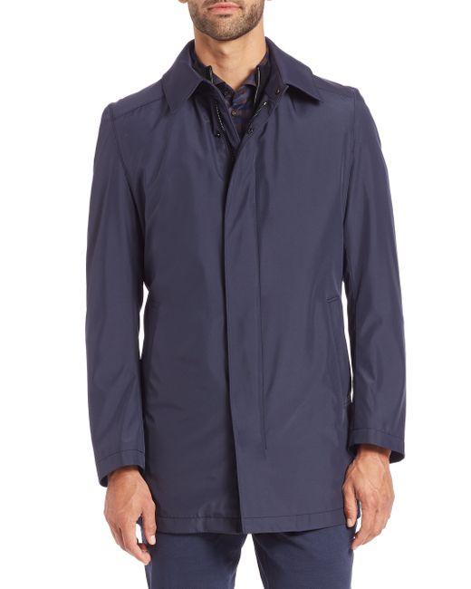 Strellson | Blue Lightweight Nylon Jacket for Men | Lyst
