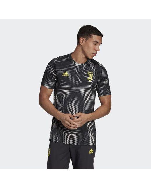 8da93bf7f Adidas - Black Juventus Home Pre-match Jersey for Men - Lyst ...