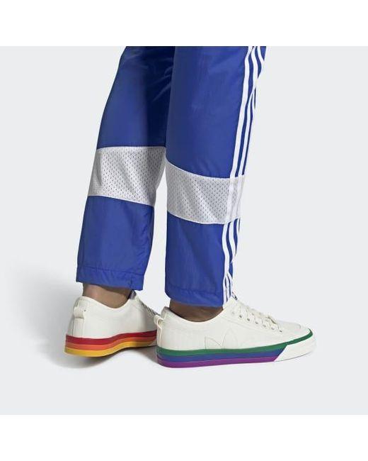 Men's White Nizza Pride Shoes