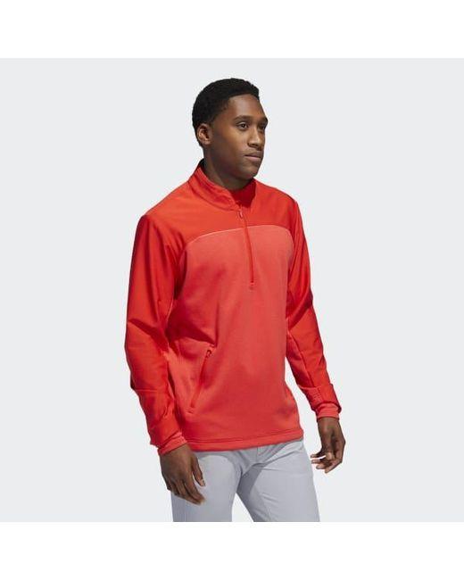 adidas 1/4 zip fleece mens