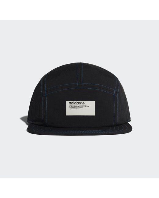 Adidas - Black Nmd 5-panel Cap for Men - Lyst ... fe4161f8e285