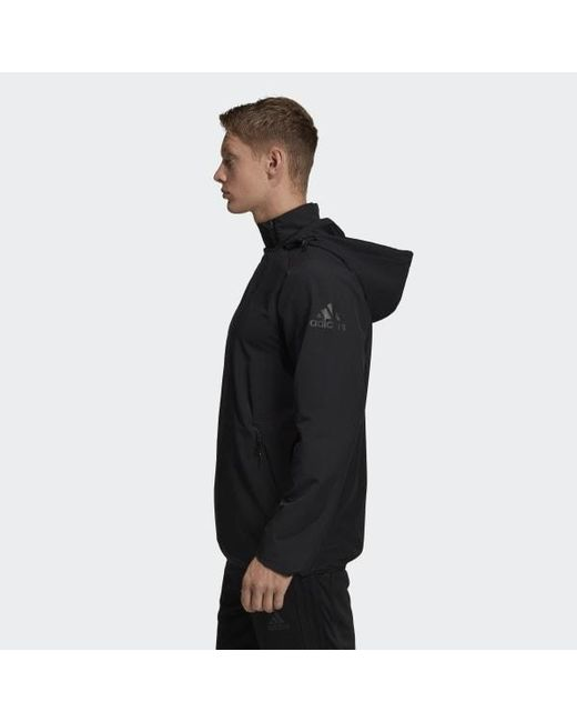 26b71fa9a6 Men's Black Usa Volleyball All-weather Jacket
