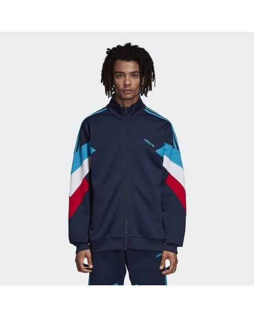 Lyst Adidas Palmerston Track Top en azul para los hombres salvar 6%