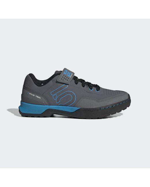 Adidas Five Ten Kestrel Lace Mountain Bike Schoenen in het Gray