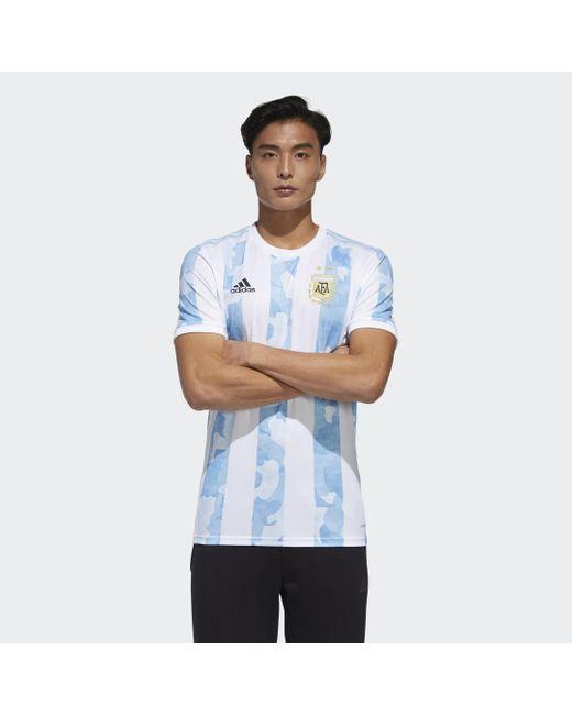Adidas Argentinië Thuisshirt in het Blue