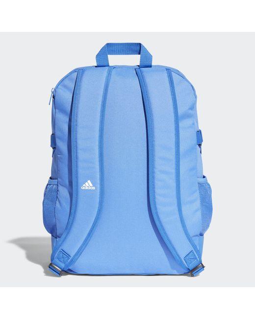5faa4d3ac606 ... Adidas - Blue 3-stripes Power Backpack Medium for Men - Lyst ...