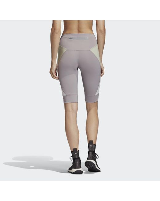 adidas Tight Run Over Knee femme de coloris gris l6sWa