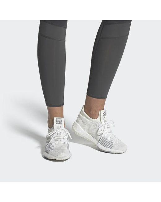 454adfa7 ... Adidas - White Pulseboost Hd Shoes - Lyst ...