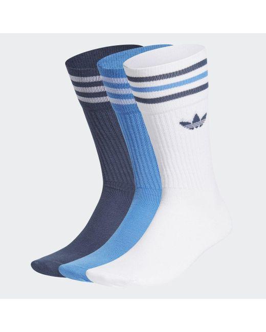 Adidas Sokken 3 Paar in het Blue