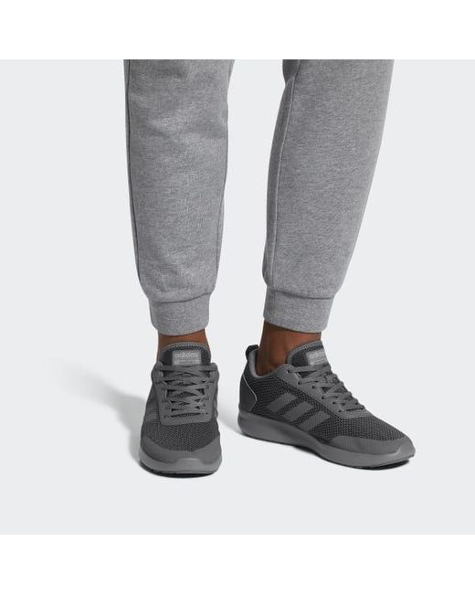 7ca3767a98 ... Adidas - Gray Element Race Shoes for Men - Lyst ...