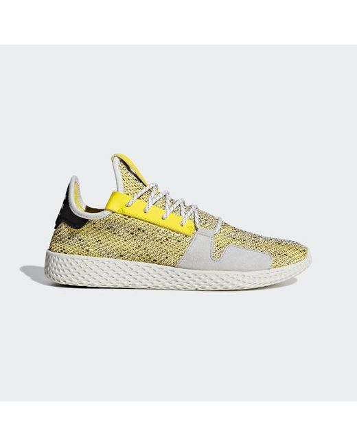 big sale 6d49f 4bf55 Adidas - Yellow Pharrell Williams Solarhu Tennis V2 Shoes for Men - Lyst ...