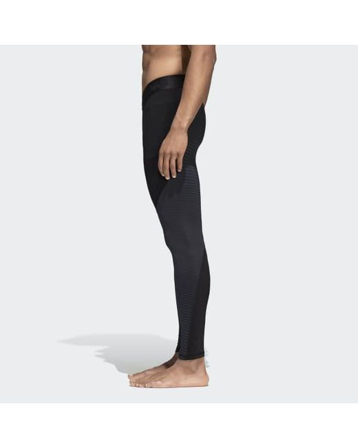 Men's Black Alphaskin Compression Tights