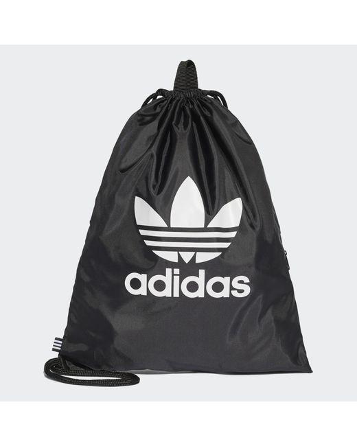 Sac de sport Trefoil Adidas en coloris Black