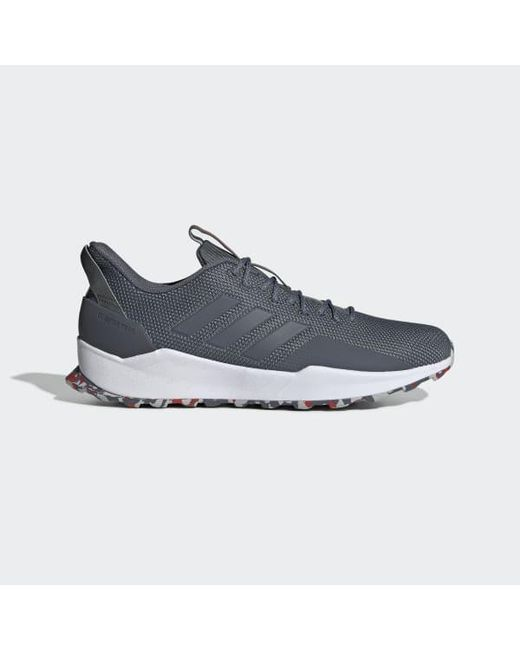 63cf7d38f Adidas - Gray Questar Trail Shoes for Men - Lyst ...