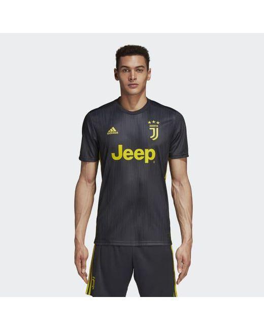 feb509f2698 Adidas - Gray Juventus Third Jersey for Men - Lyst ...