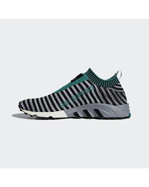 competitive price a71bb 1b3b1 ... Adidas - Black Eqt Support Sk Primeknit Shoes - Lyst ...