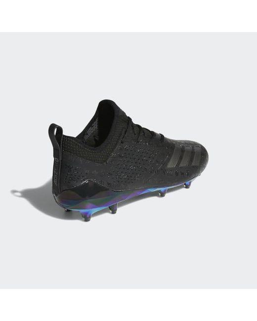 purchase cheap cd485 487f8 ... Adidas - Black Adizero 5-star 7.0 Adimoji Cleats for Men - Lyst ...