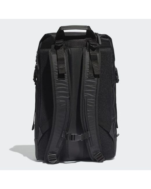 cheap for sale large discount the best attitude adidas Synthetic Future Roll-top Backpack in Black - Lyst