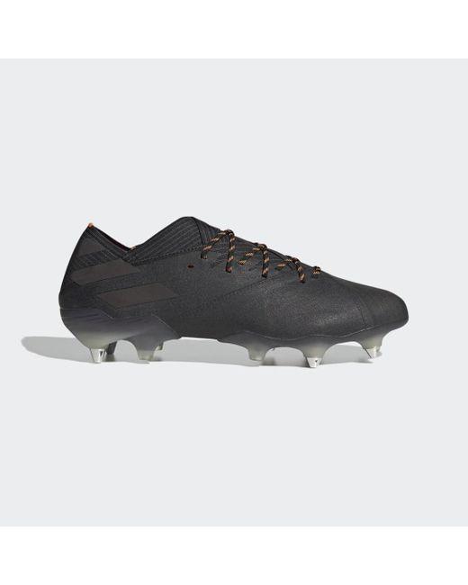 Adidas Black Nemeziz 19.1 SG Fußballschuh