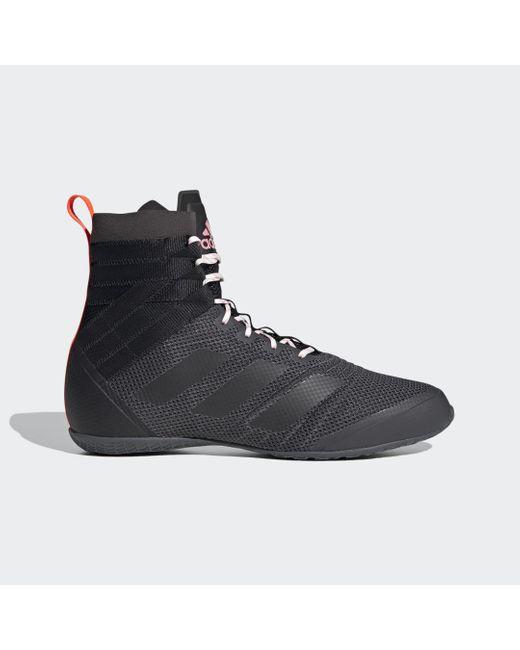 Chaussure de boxe Speedex 18 Dentelle adidas en coloris Noir - Lyst