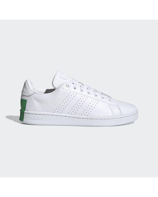 Chaussure Advantage Dentelle adidas pour homme en coloris Blanc - Lyst
