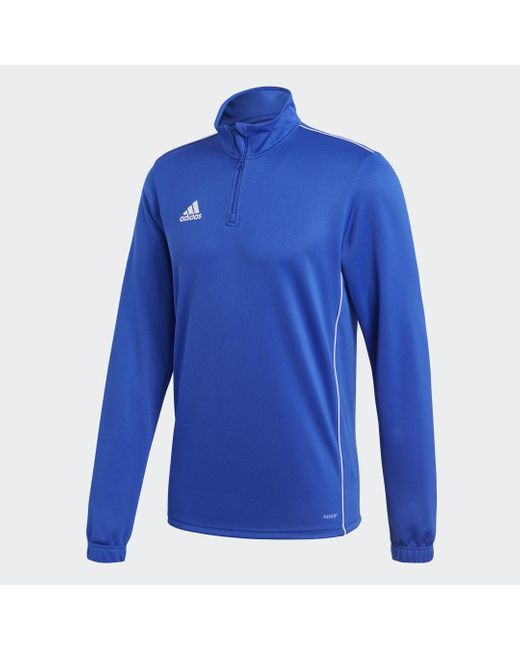 Adidas Core 18 Trainingsjack in het Blue voor heren