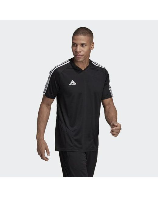 adidas Synthetic Tiro 19 Training Jersey in Black for Men Lyst