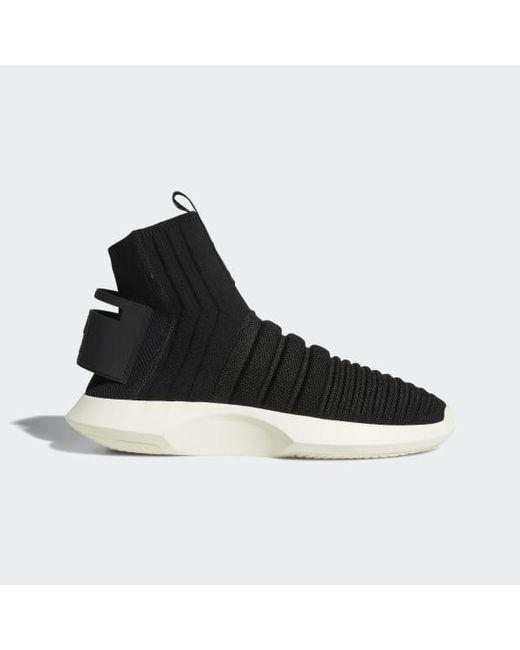 new styles 8666f ae73e Adidas - Black Crazy 1 Adv Primeknit Sock Shoes for Men - Lyst ...