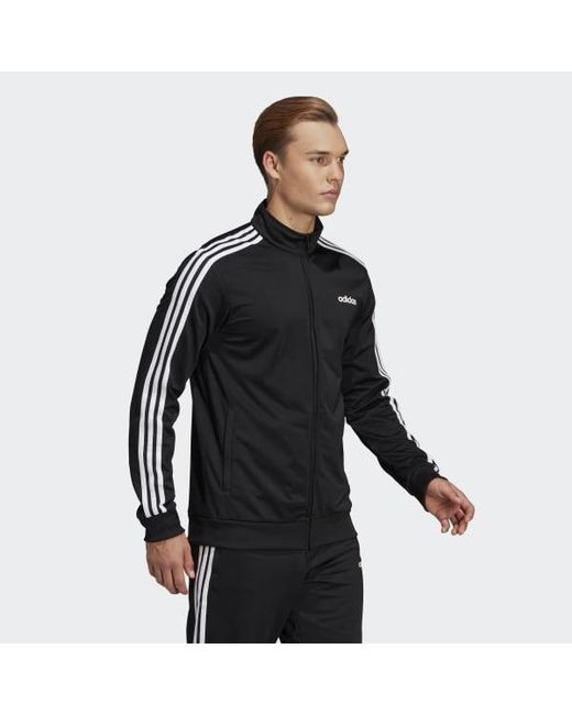 adidas Essentials 3 Stripes Tricot Training Jacket Men