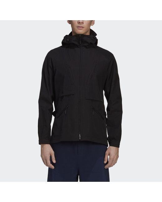 Adidas Y-3 Classic Light Ripstop Hooded Windbreaker in Black für Herren