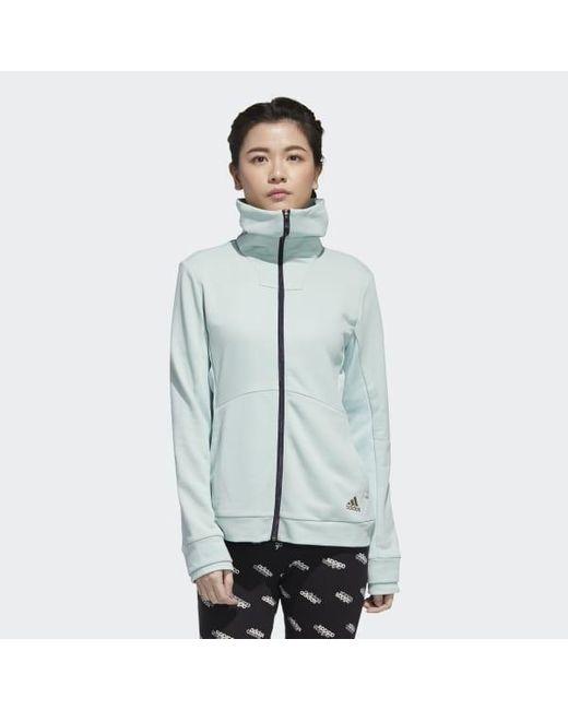 Adidas Green U4u Full-zip Track Top