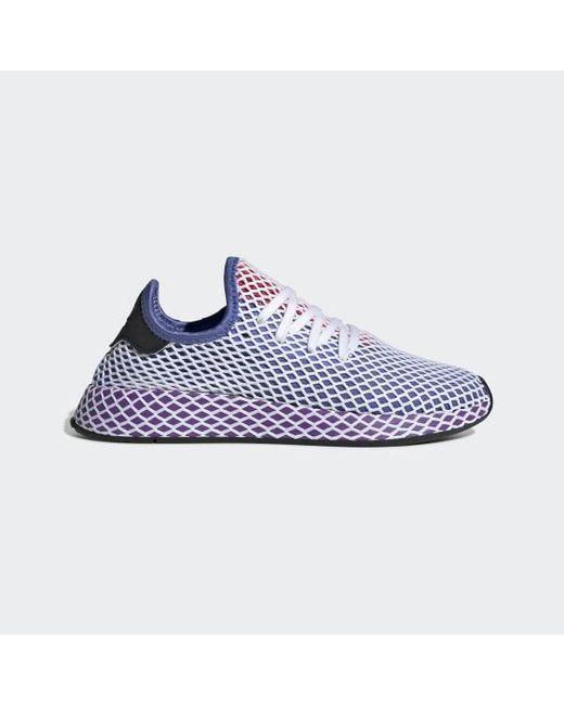 innovative design c0e5d cd684 Adidas - Purple Deerupt Runner Shoes - Lyst ...