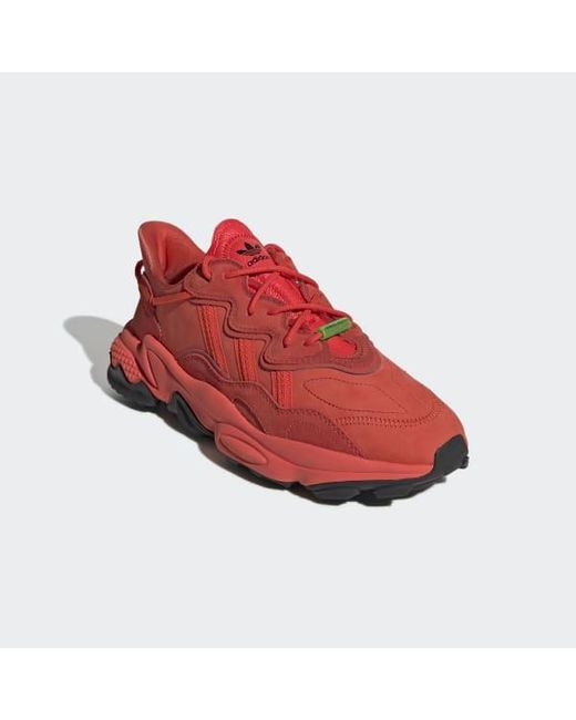 adidas Suede Ozweego Tr Shoes in Burgundy (Red) Lyst
