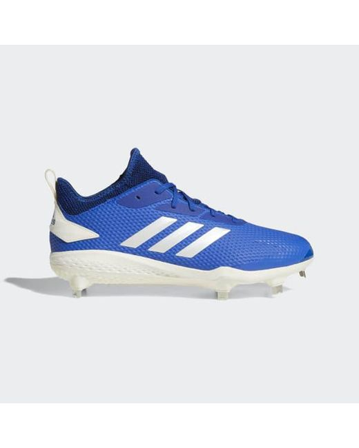 ddb83455df0a12 Adidas - Blue Adizero Afterburner V Cleats for Men - Lyst ...