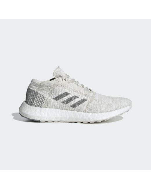 89cc38663 Adidas - White Pureboost Go Shoes - Lyst ...