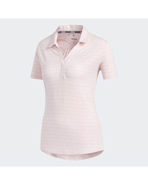 adidas polo pink