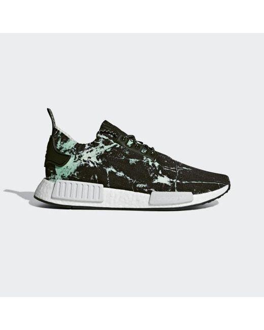 fee321a92 Lyst - adidas Nmd r1 Primeknit Shoes in Black - Save 62%