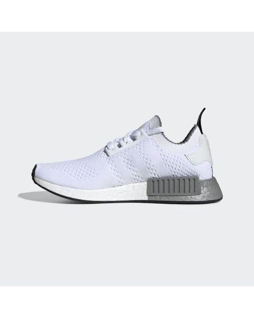 pretty nice 7c820 bd1f7 Men's White Nmd_r1 Primeknit Shoes