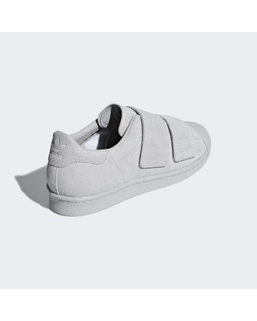 f0bf3af428f35 ... Adidas - Gray Superstar 80s Cf Shoes - Lyst ...